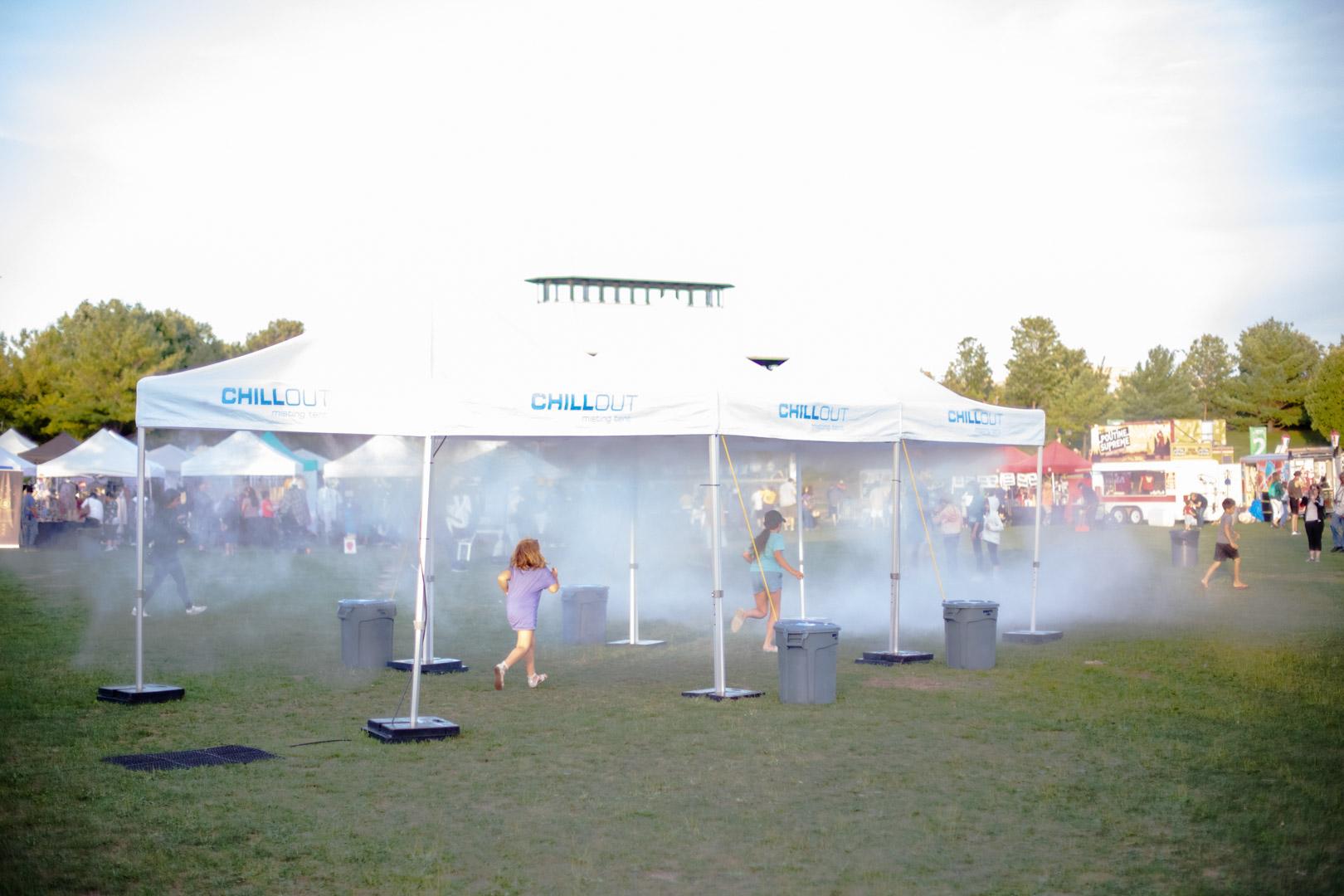 Mist Tent
