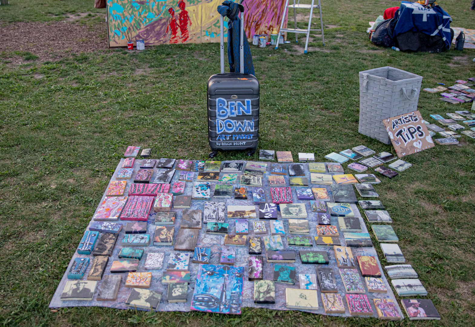 Ben Down Art Market By Kevin Hunt