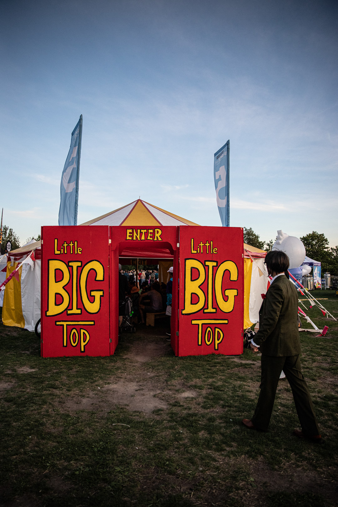 Looking Inside The Little Big Top