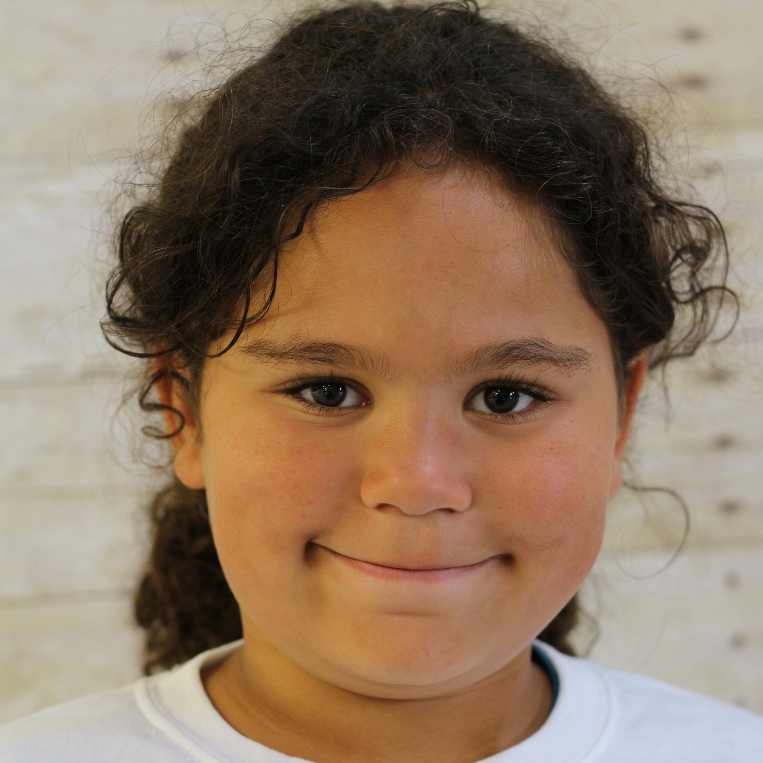Jaliyah, age 7, Bayshore, NY