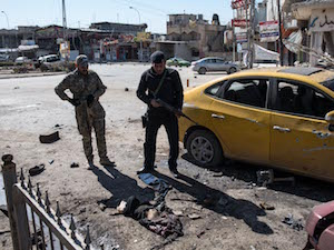 ISIS SUICIDE BOMBERS STRIKE AS FINAL BATTLE FOR JIHADI STRONGHOLD BEGINS  Islamic State sleeper cells in east Mosul mark the start of a new insurgency -  International Business Times