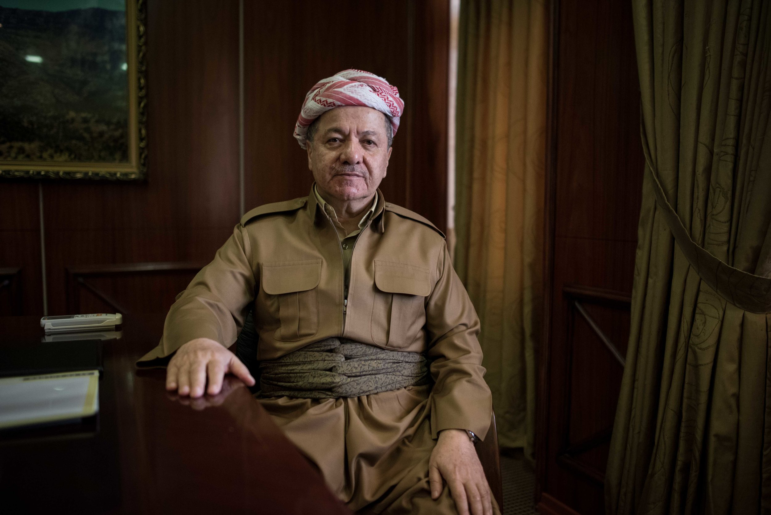 'I WANT TO DIE IN THE SHADOW OF THE FLAG OF AN INDEPENDENT KURDISTAN'  An independence referendum is Masoud Barzani's last big gamble as president of Iraq's Kurdistan Region -  Foreign Policy