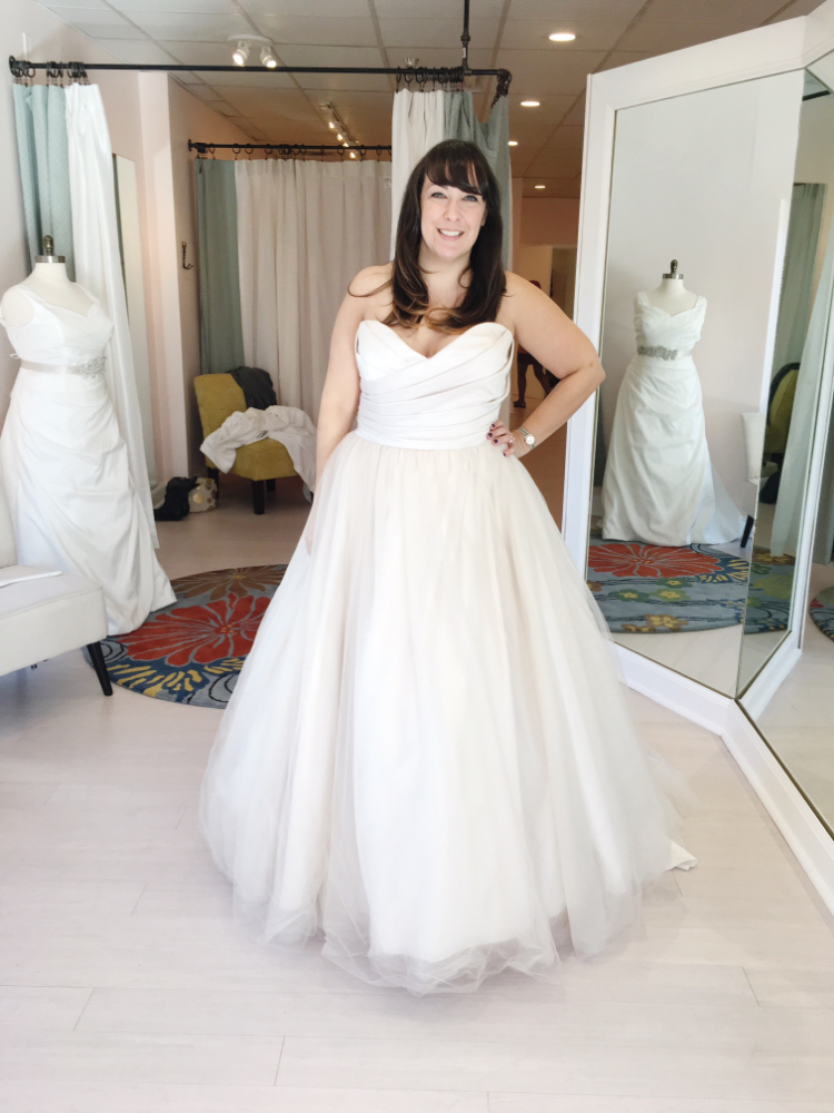 No, this isn't my dress but it sure is beautiful!