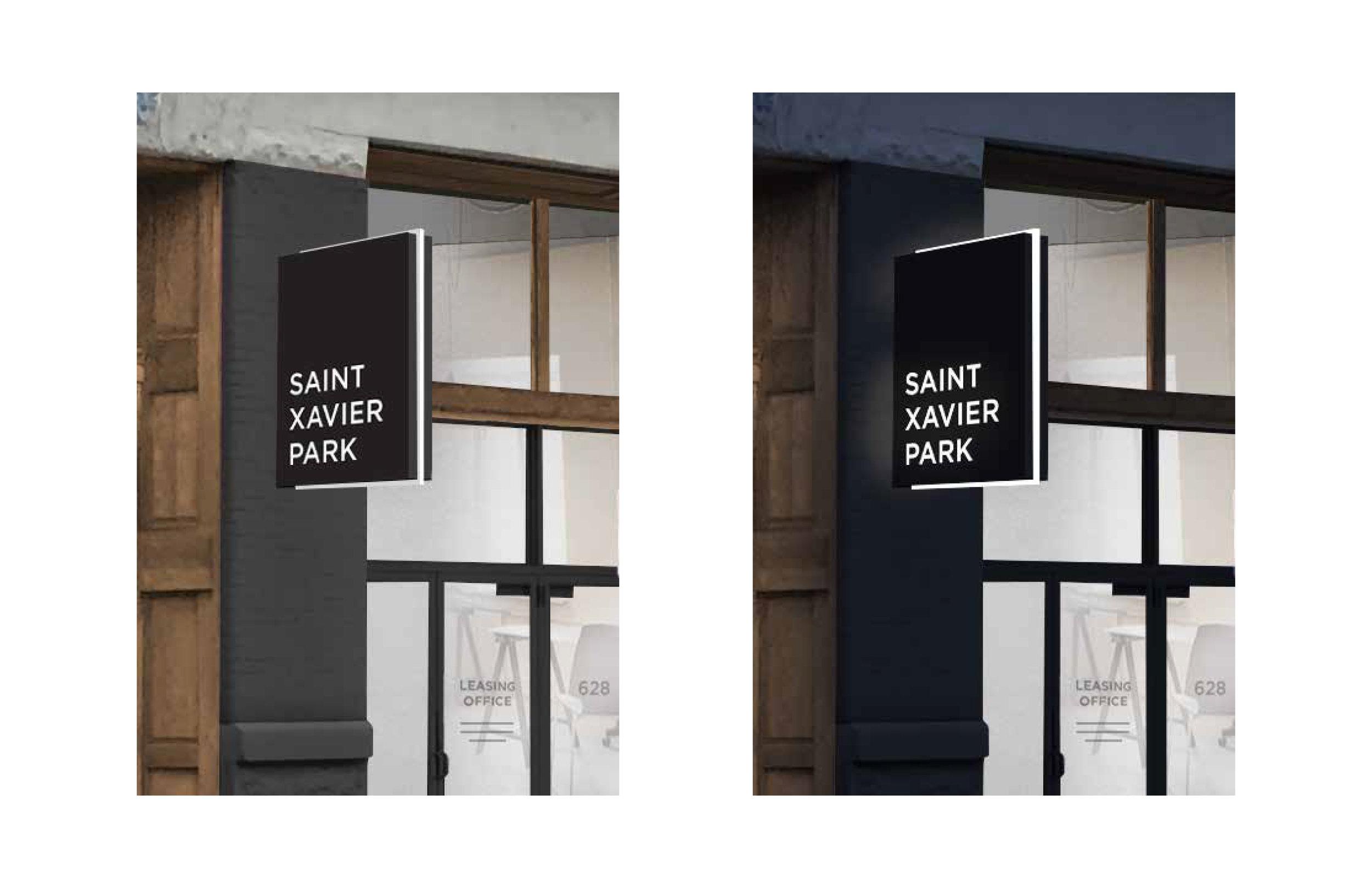 Exterior Signage Mock-Up