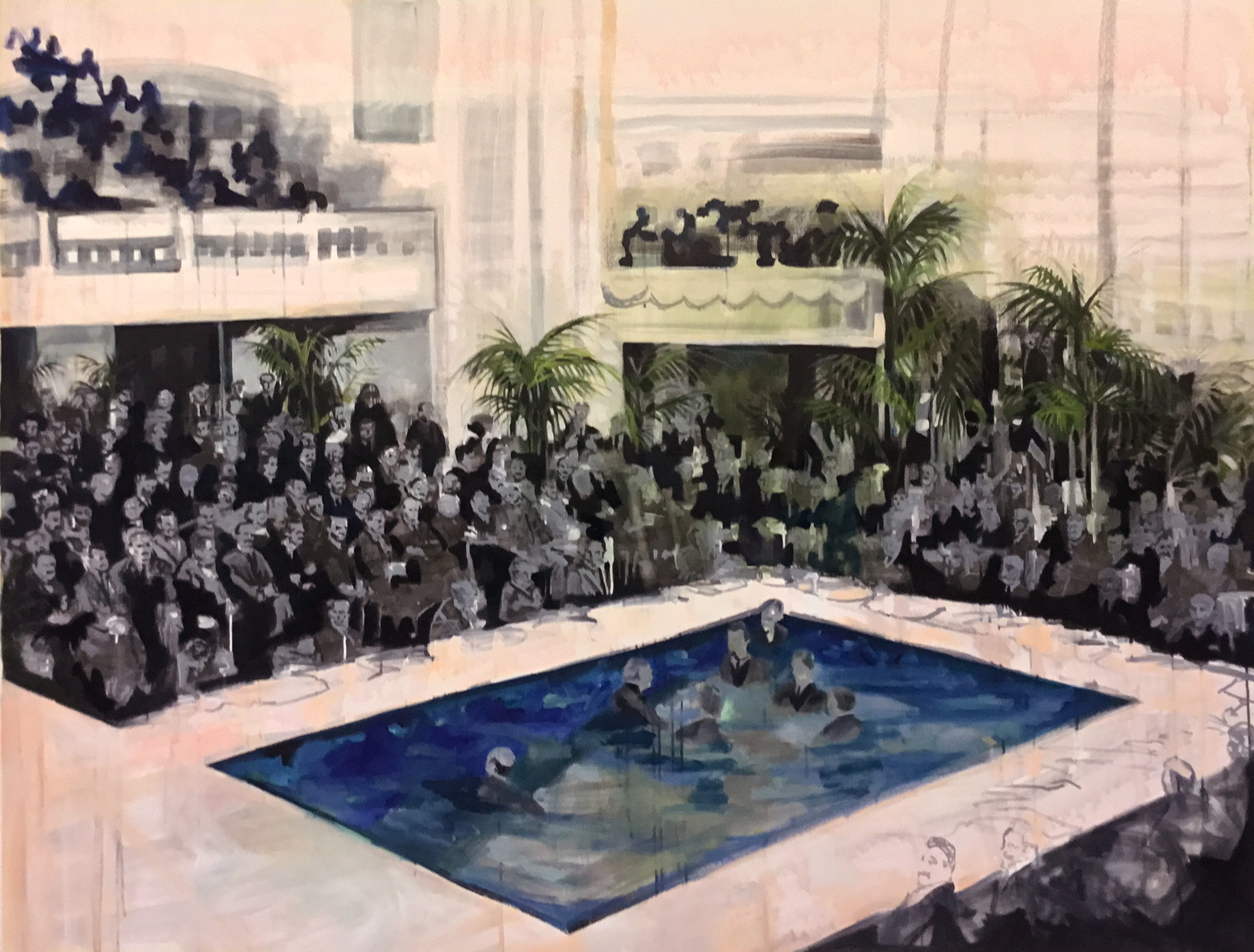 Pool Crowd 2016