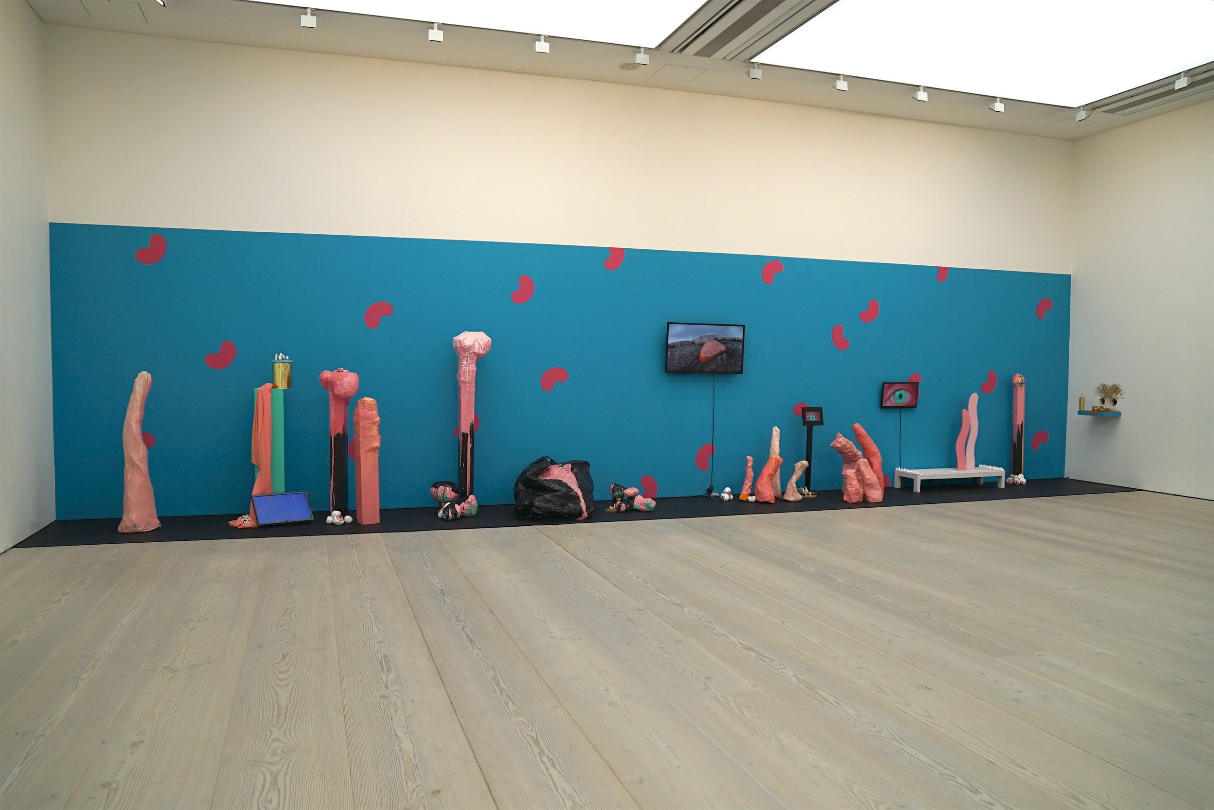 Till Death do us Party installed at Saatchi Gallery, 2015-16