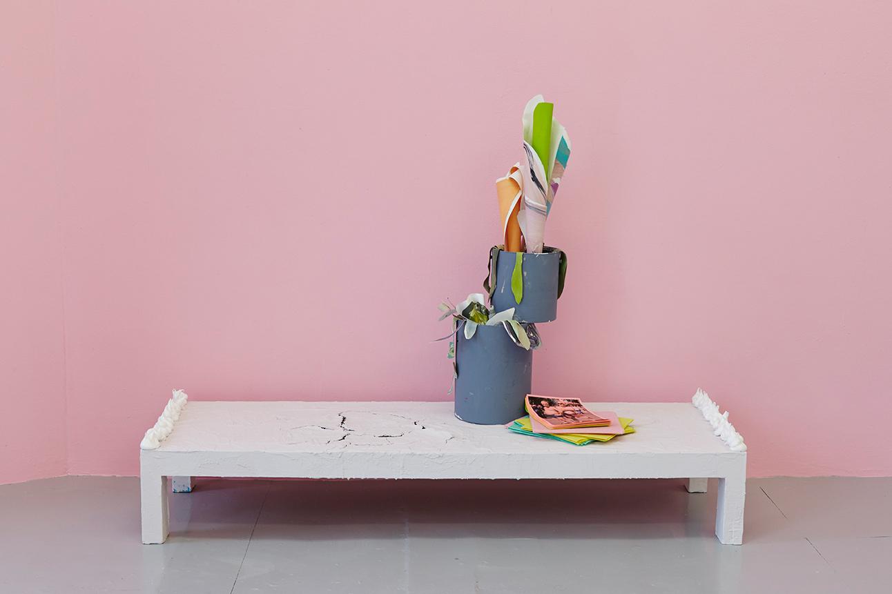 Diet Coke Break, installed at City and Guilds of London Art School, Artist in Residence 2015