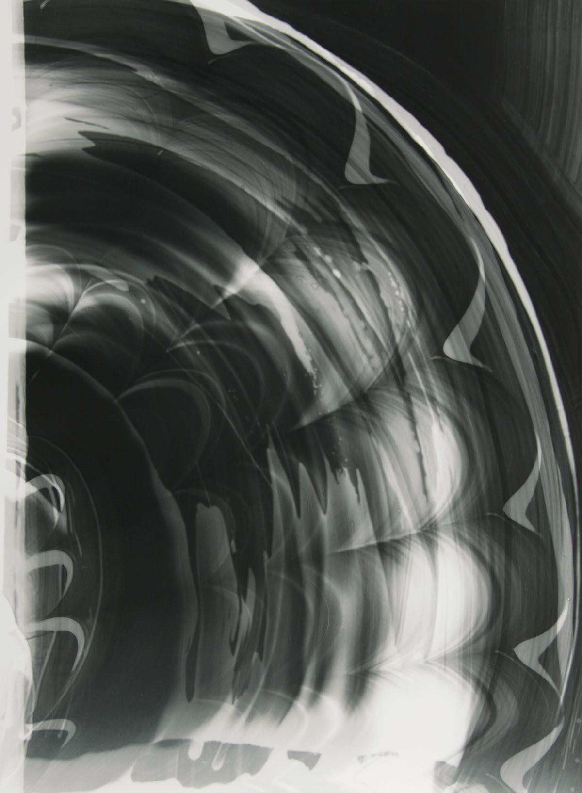 Blind Light 25, unique photogram 2015