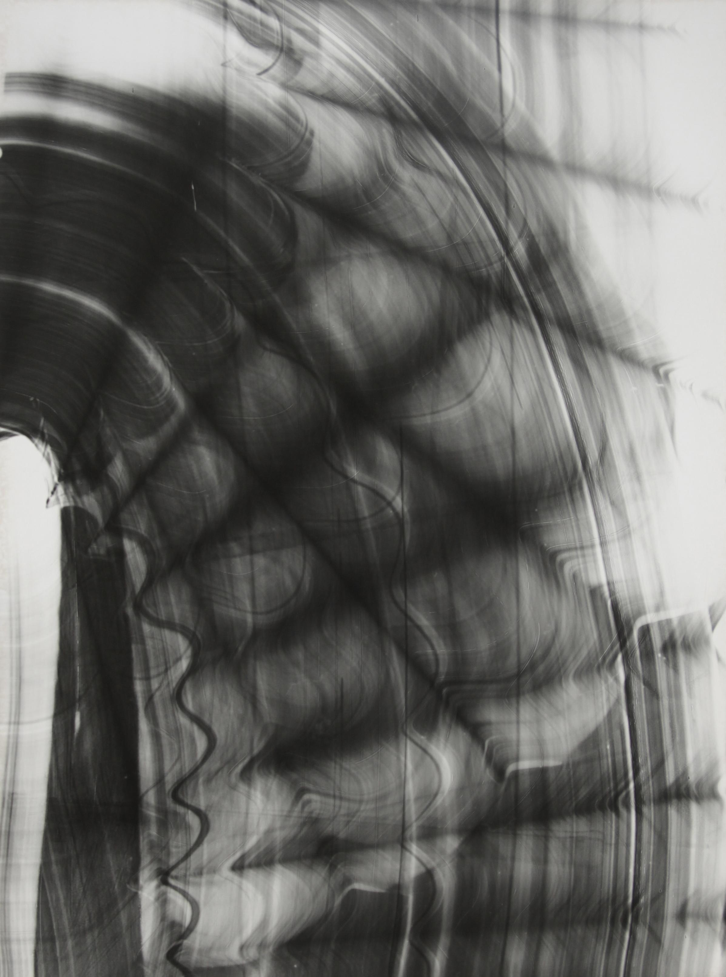 Blind Light 8, unique photogram 2015