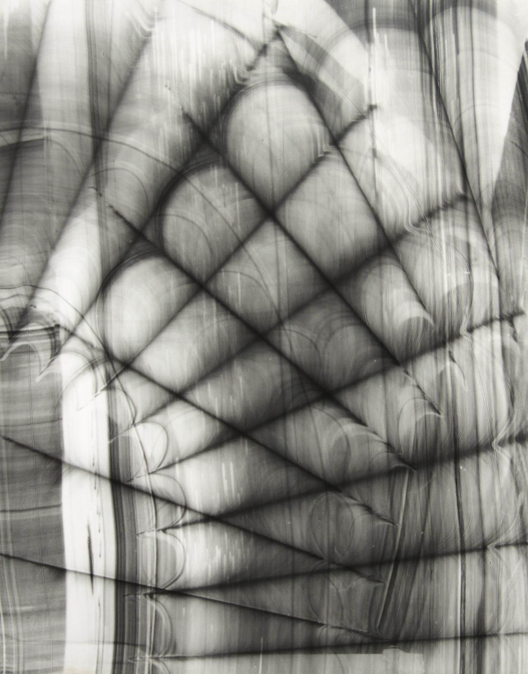 Blind Light 11, unique photogram 2015