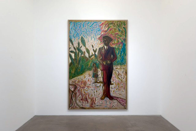 Billy Childish: Edge of the Forest, Lehmann Maupin, Hong Kong 2014