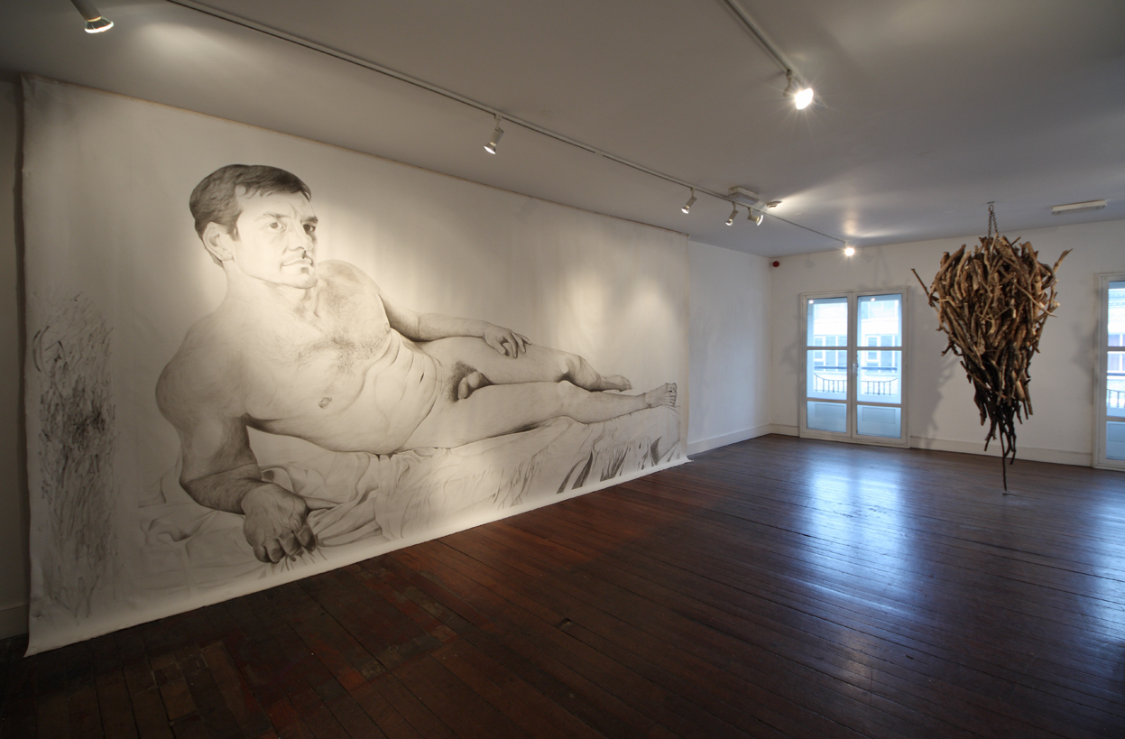 Young Gods,  curated by Zavier Ellis  ,CHARLIE SMITH LONDON, 2011