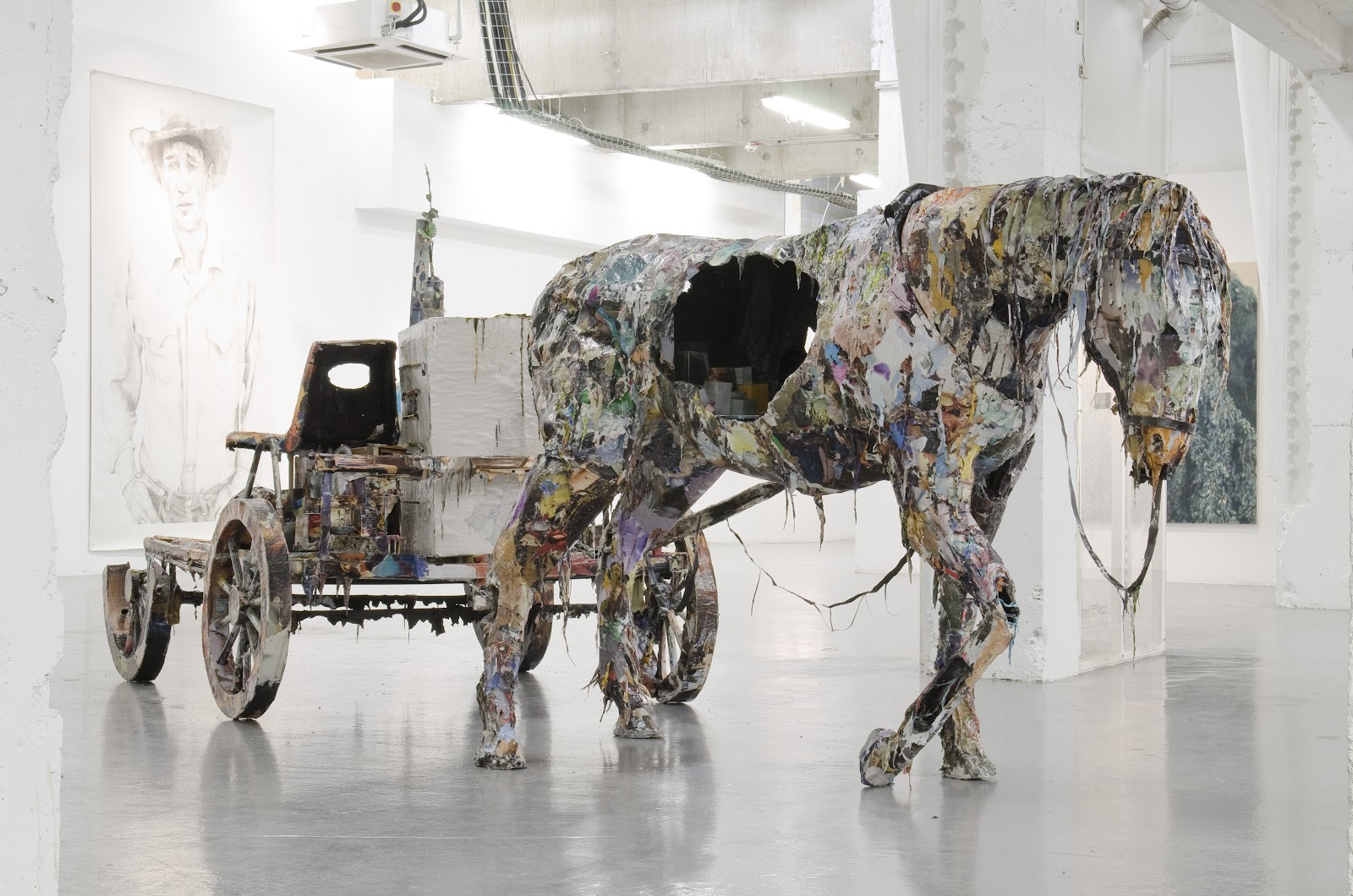 THE FUTURE CAN WAIT ( Chris Jones),   curated by Zavier Ellis   & Simon Rumley, Victoria House, London, 2011