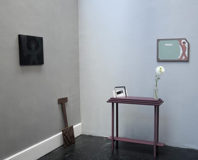 Neal Jones:    'I am Not Painting'  L-13 Light Industrial Workshop, London 2012