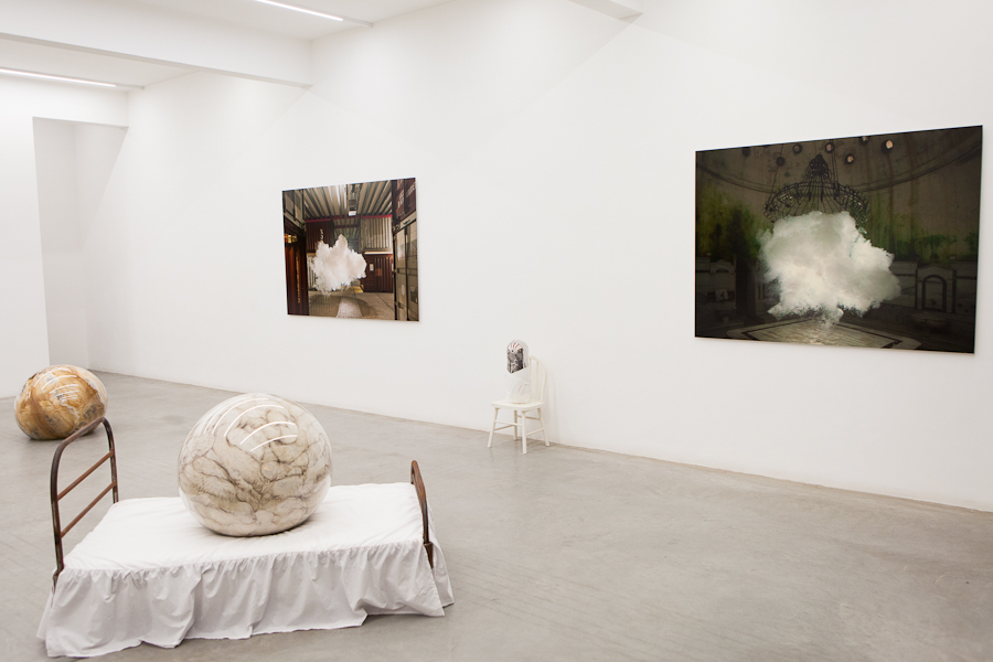 The Uncanny,Adeline de Monseignat and Berndnaut Smilde, Ronchini Gallery