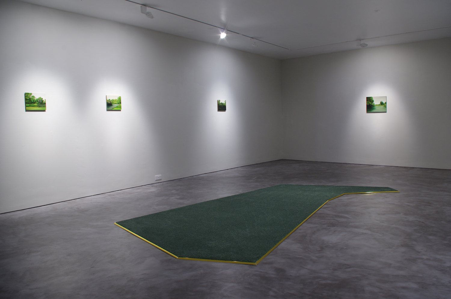 Not Just Yet, Installation view, Cross gallery, Dublin 2015