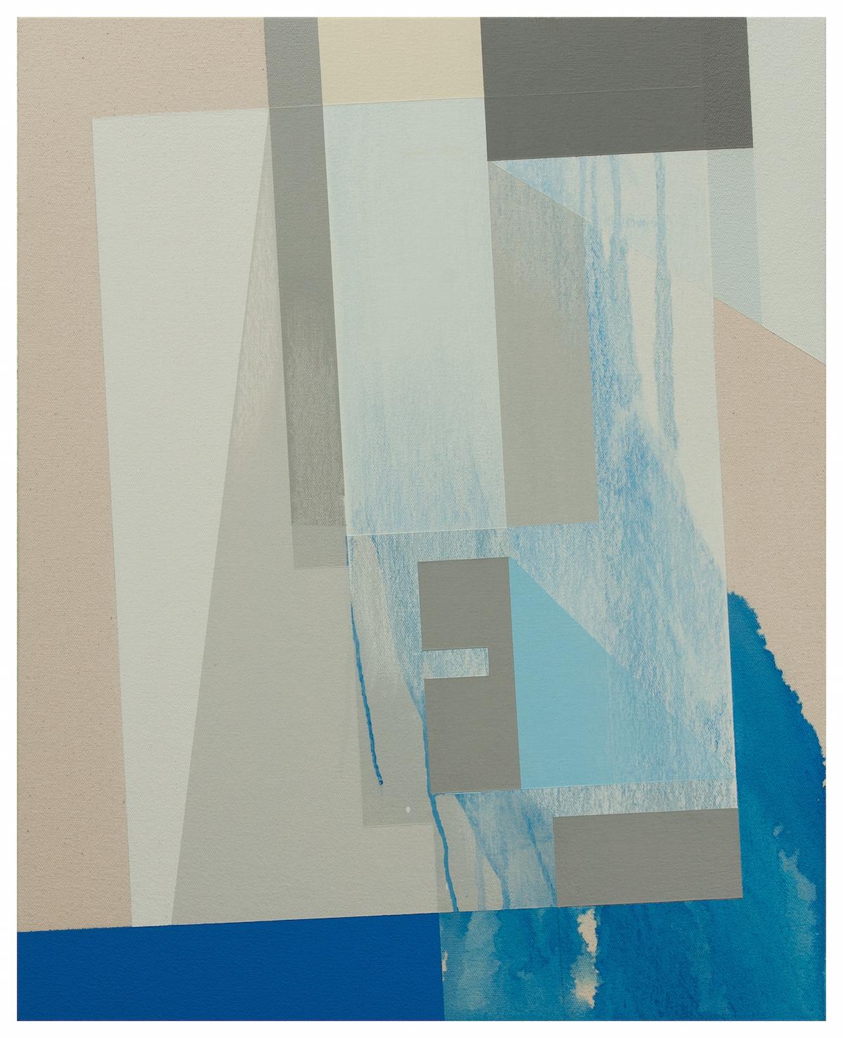 Mr Bauhaus (blue screen), 2016