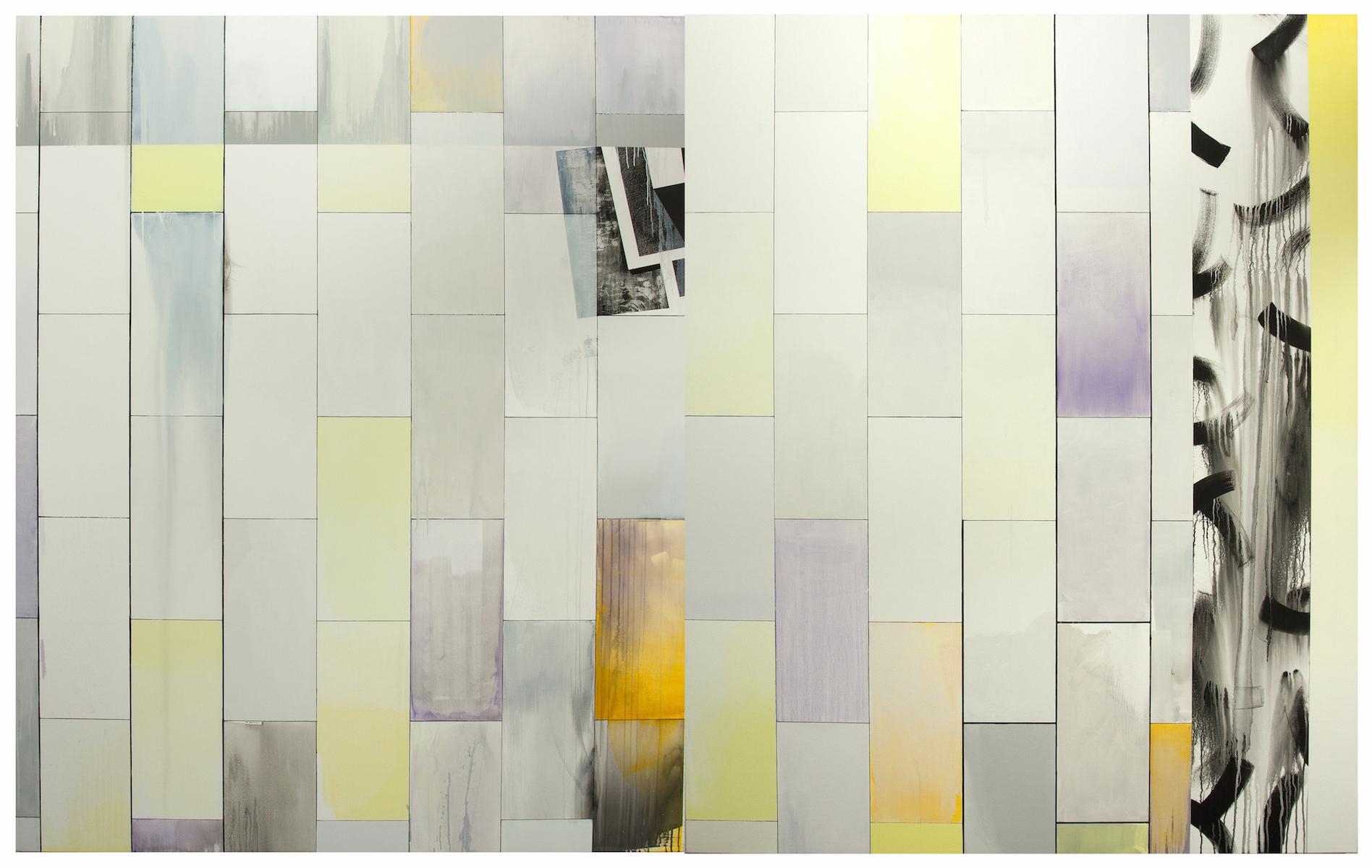 Wall of windows (divider), 2016
