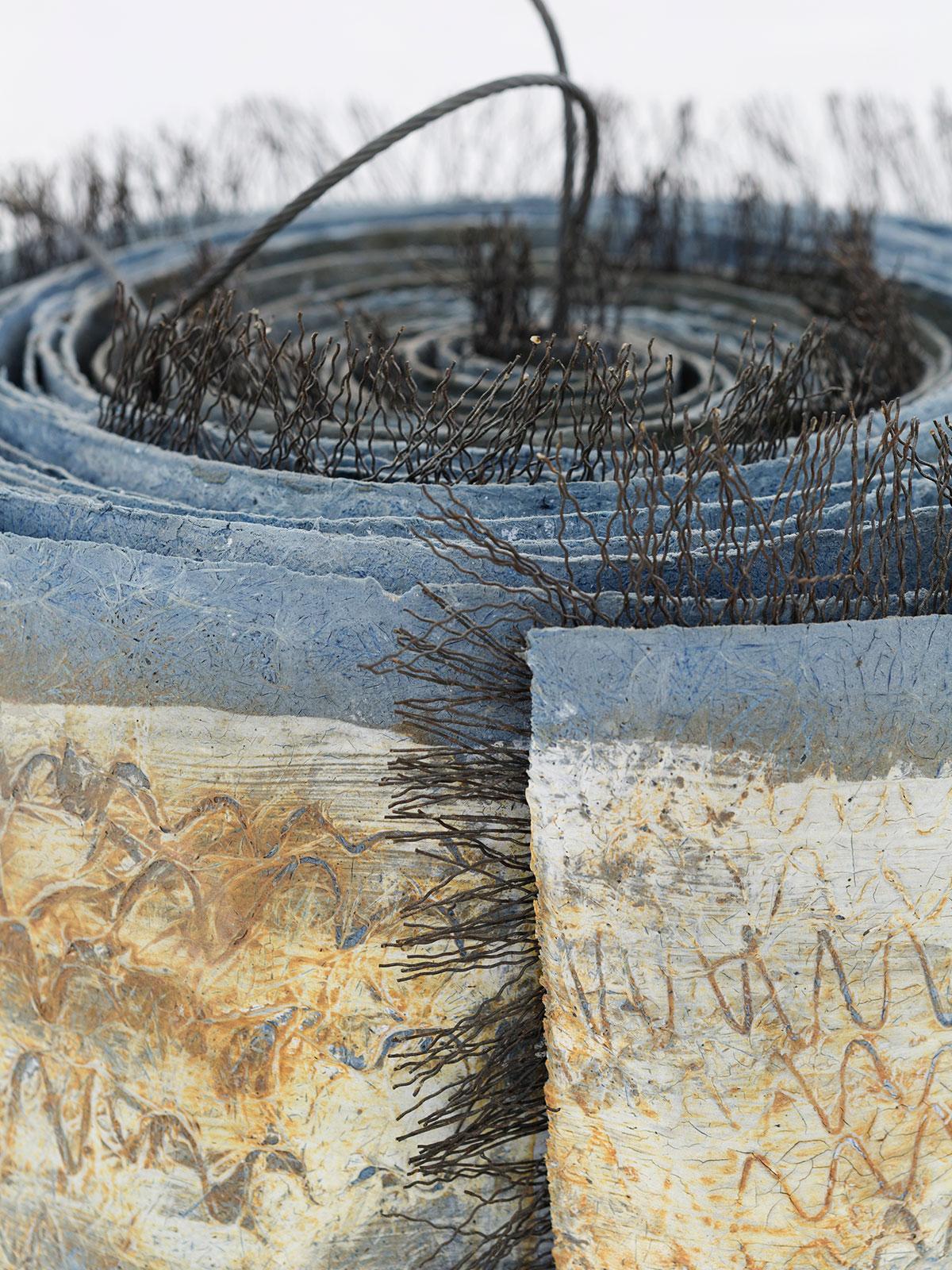 14.-Scroll-1995-Fibreglass-metal-Large-scroll-24-x-39.5-cm-small-scroll-15-x-7.5cm.jpg