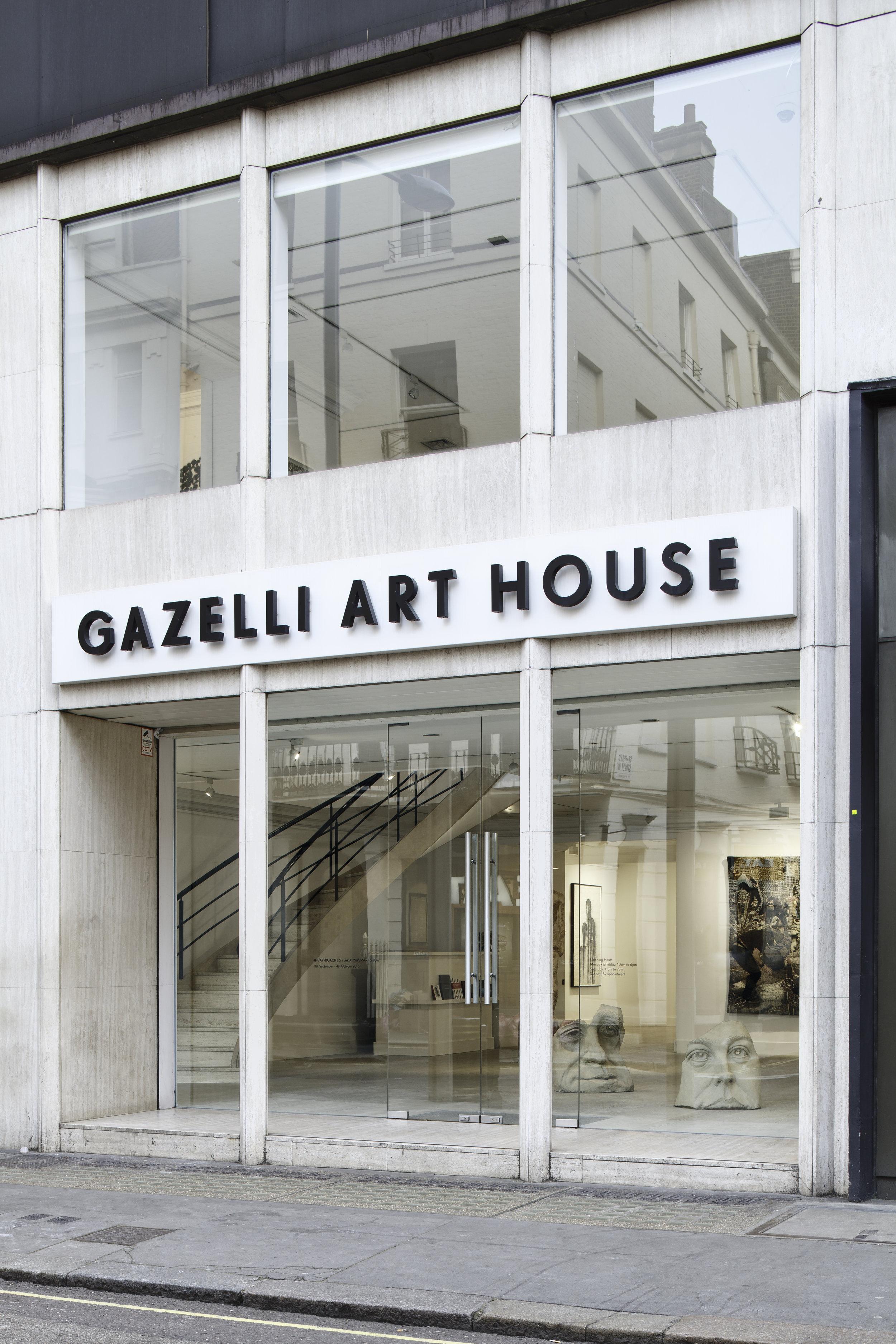 Front of Gazelli Art House