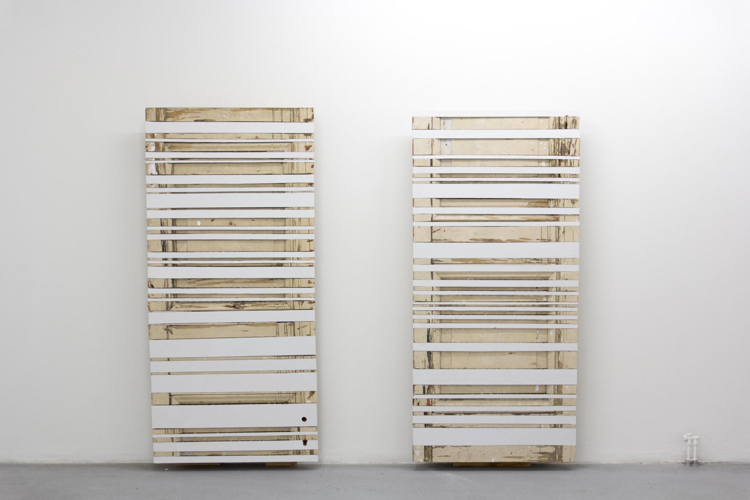 Zwei Türen, 2014, sculpture
