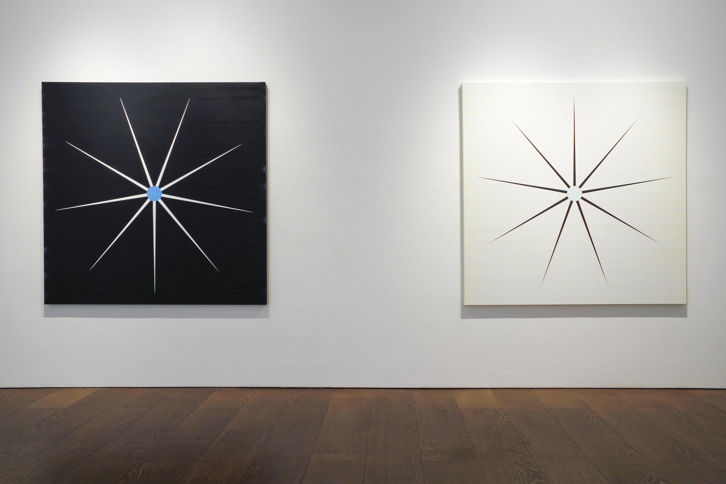Pointstar, installation shot, Flowers Gallery
