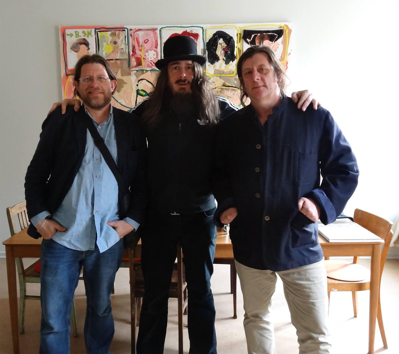 Phil King, Jonathan Meese, Marcus Harvey - Berlin 2017