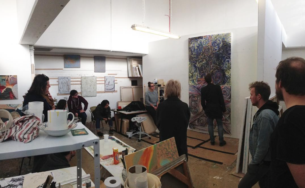 Crit at Turps Studios
