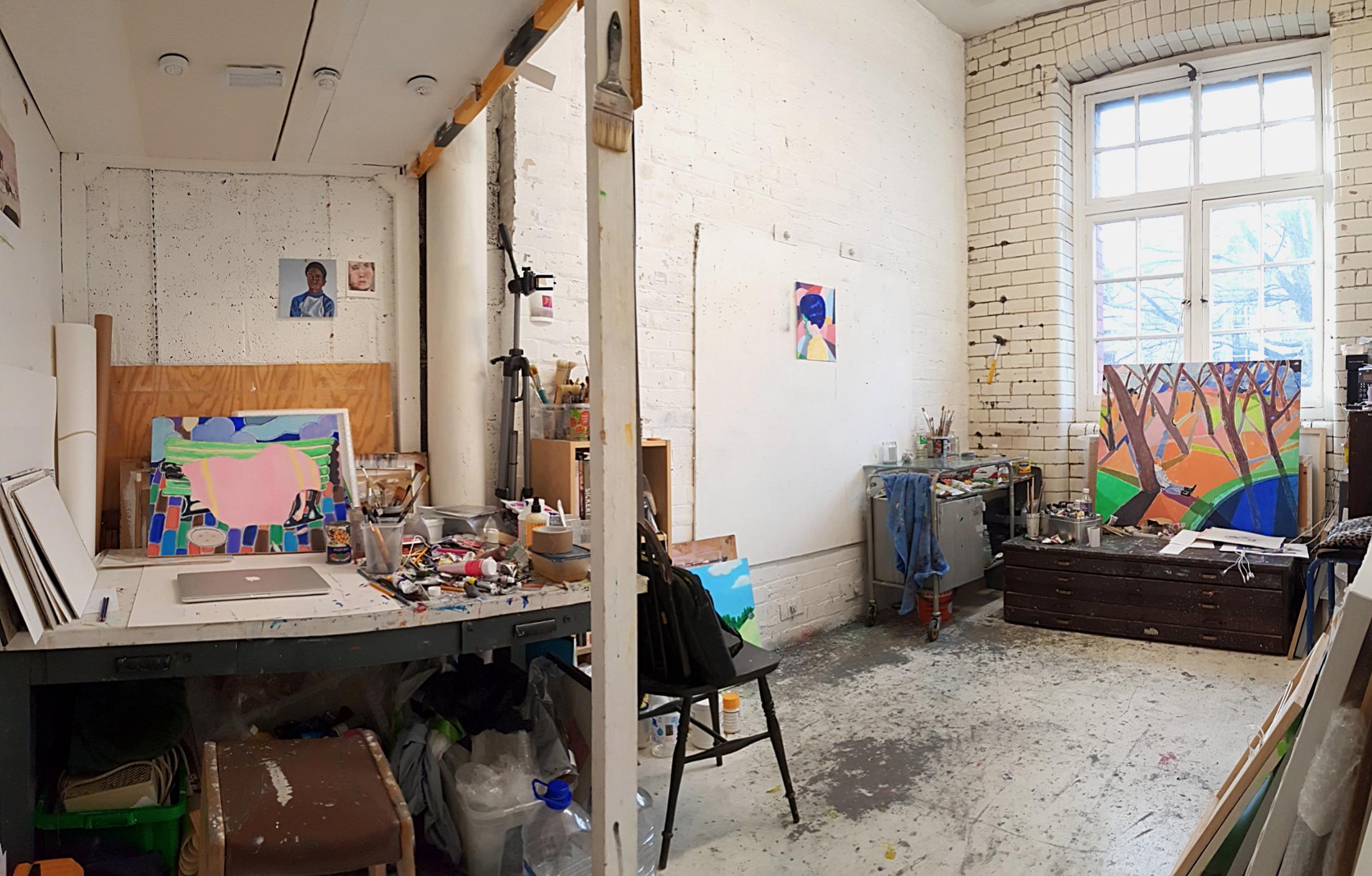 Ian Healy's Studio