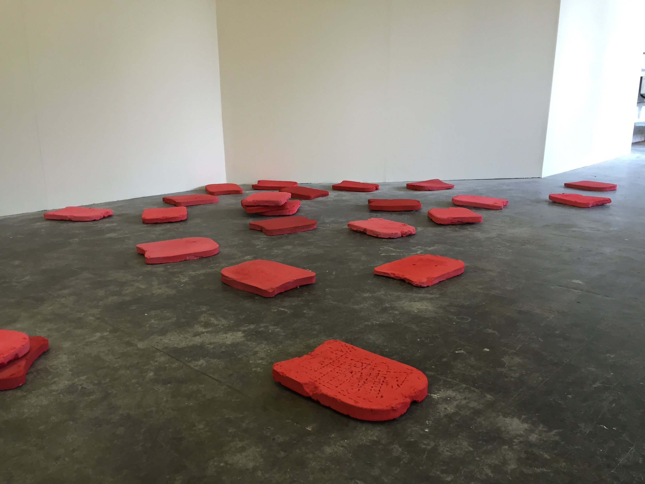 Like Swimming (red room) 2016