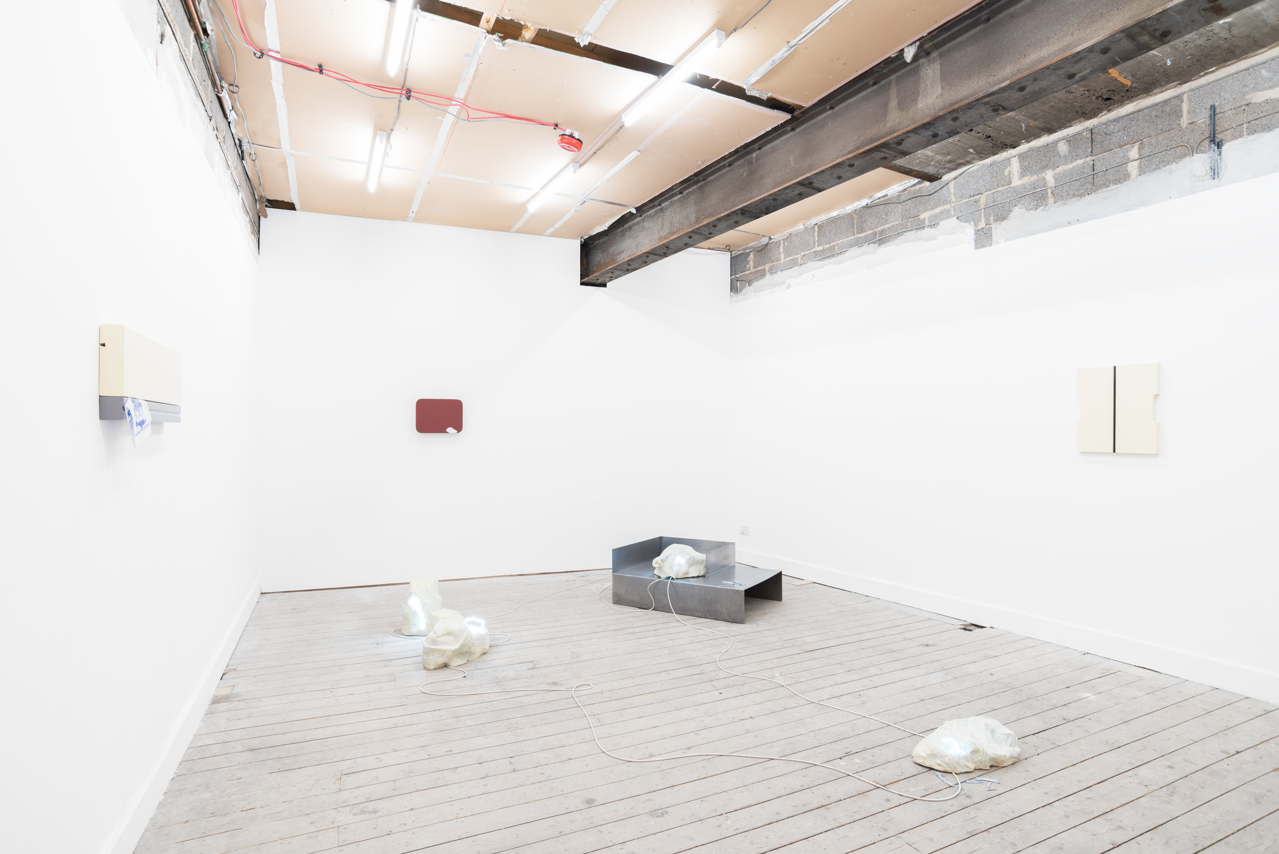 Pale Lithics (installation shot) 2017