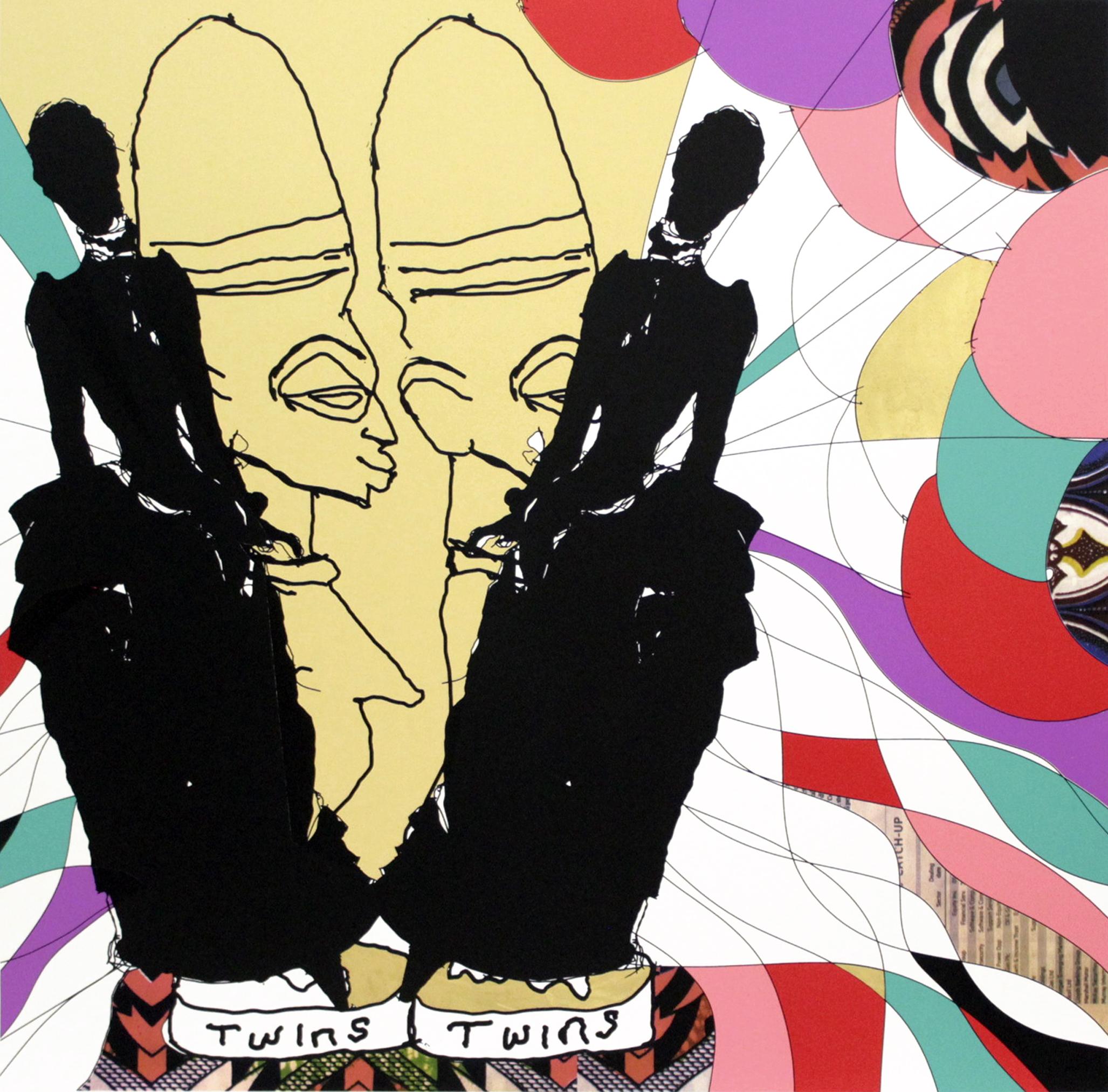 Print on show for Art X Lagos