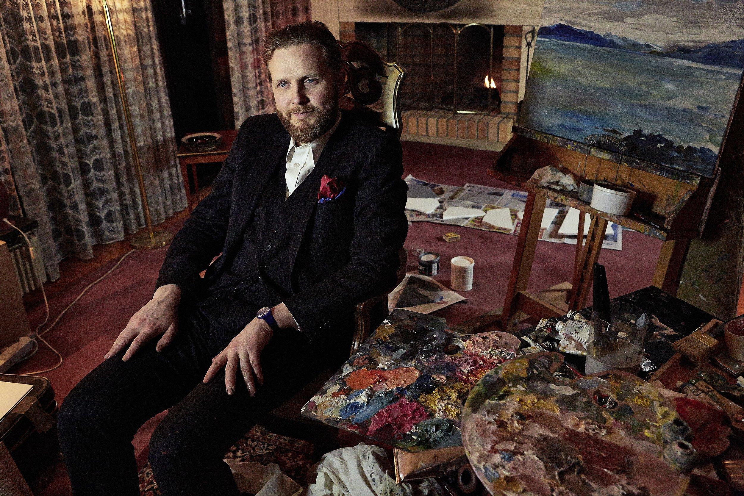 Ragnar Kjartansson by Elisabet Davids