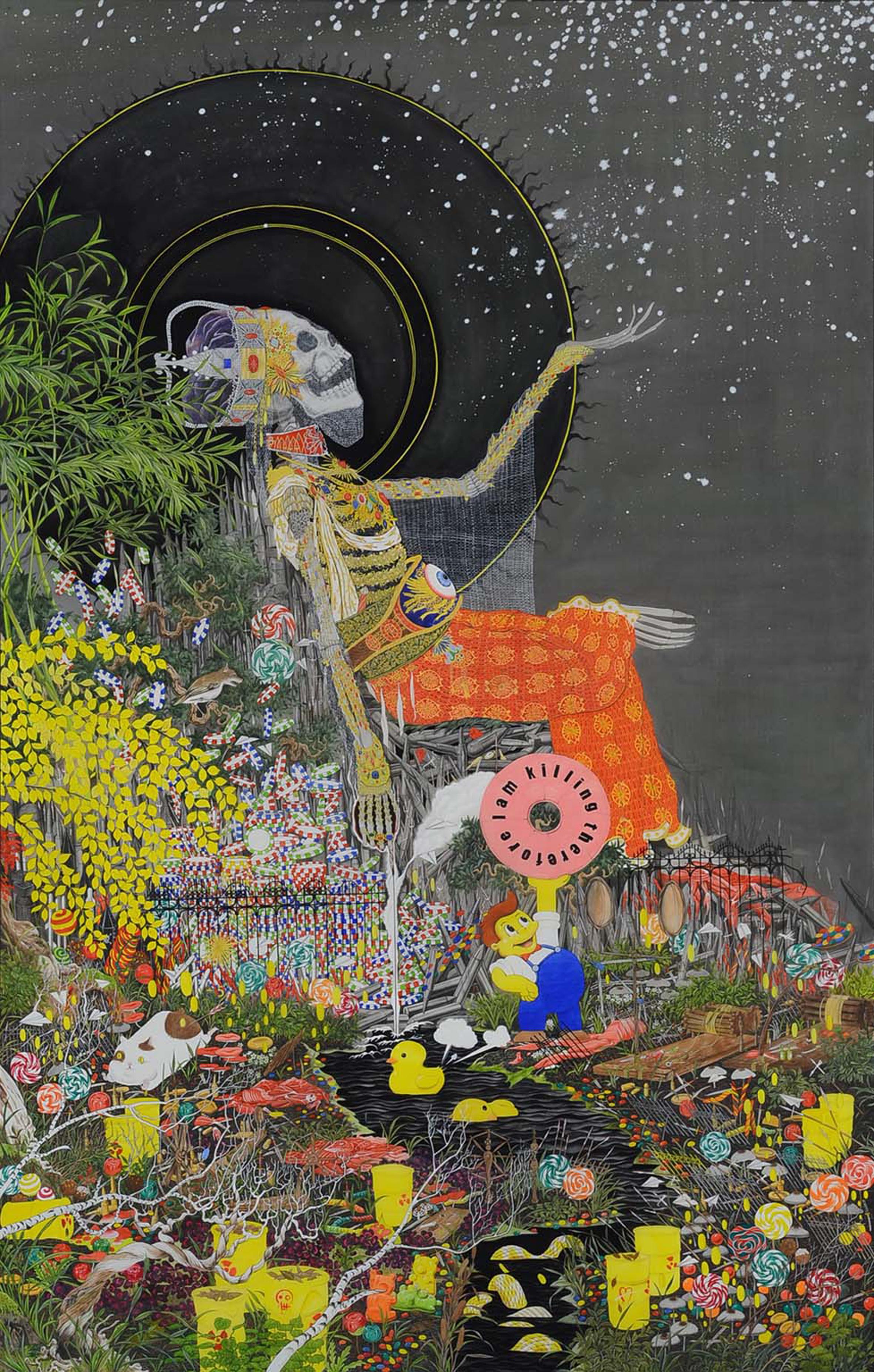 """The fertile land"", 2016"