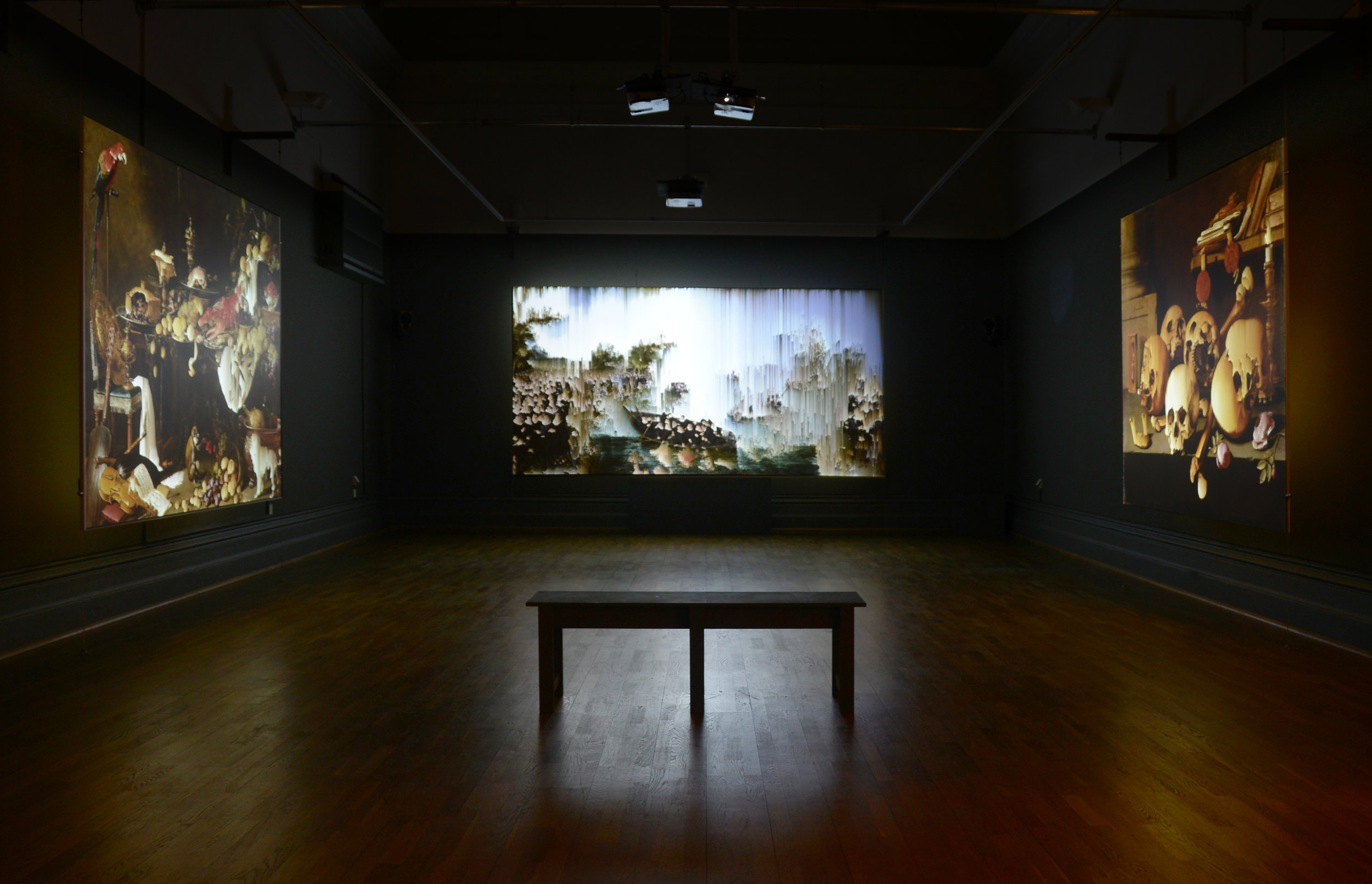 """Here be Dragons"" Video installation"