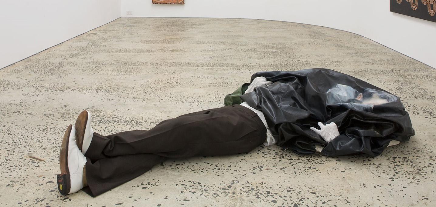 """Constipation""2015 Installation view: Minerva, Sydney. Photo credit: Minerva gallery"