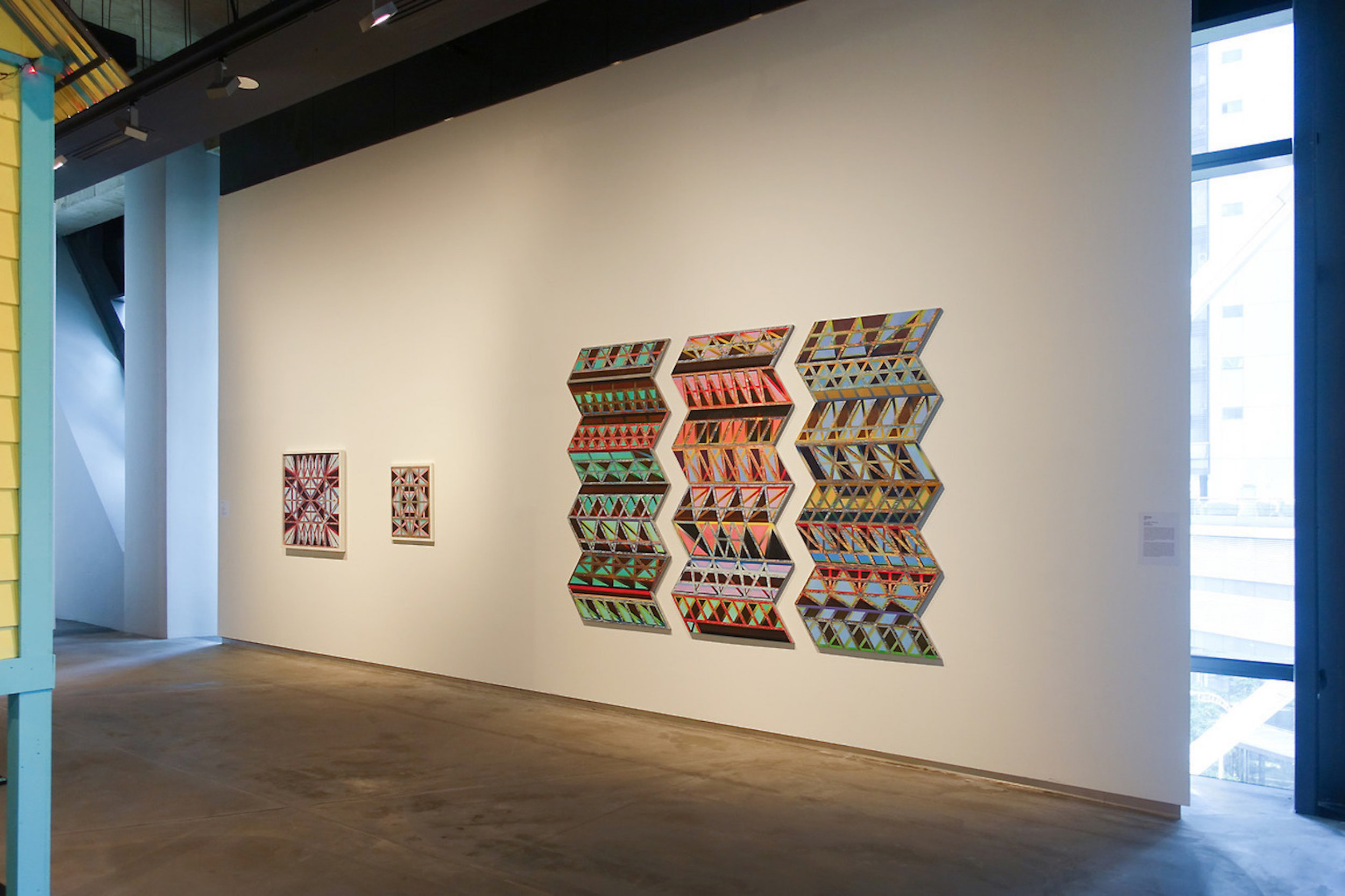 Installation view of 'ILHAM CONTEMPORARY FORUM' Malaysia 2009 – 2017' at Ilham Gallery, Kuala Lumpur. 2017