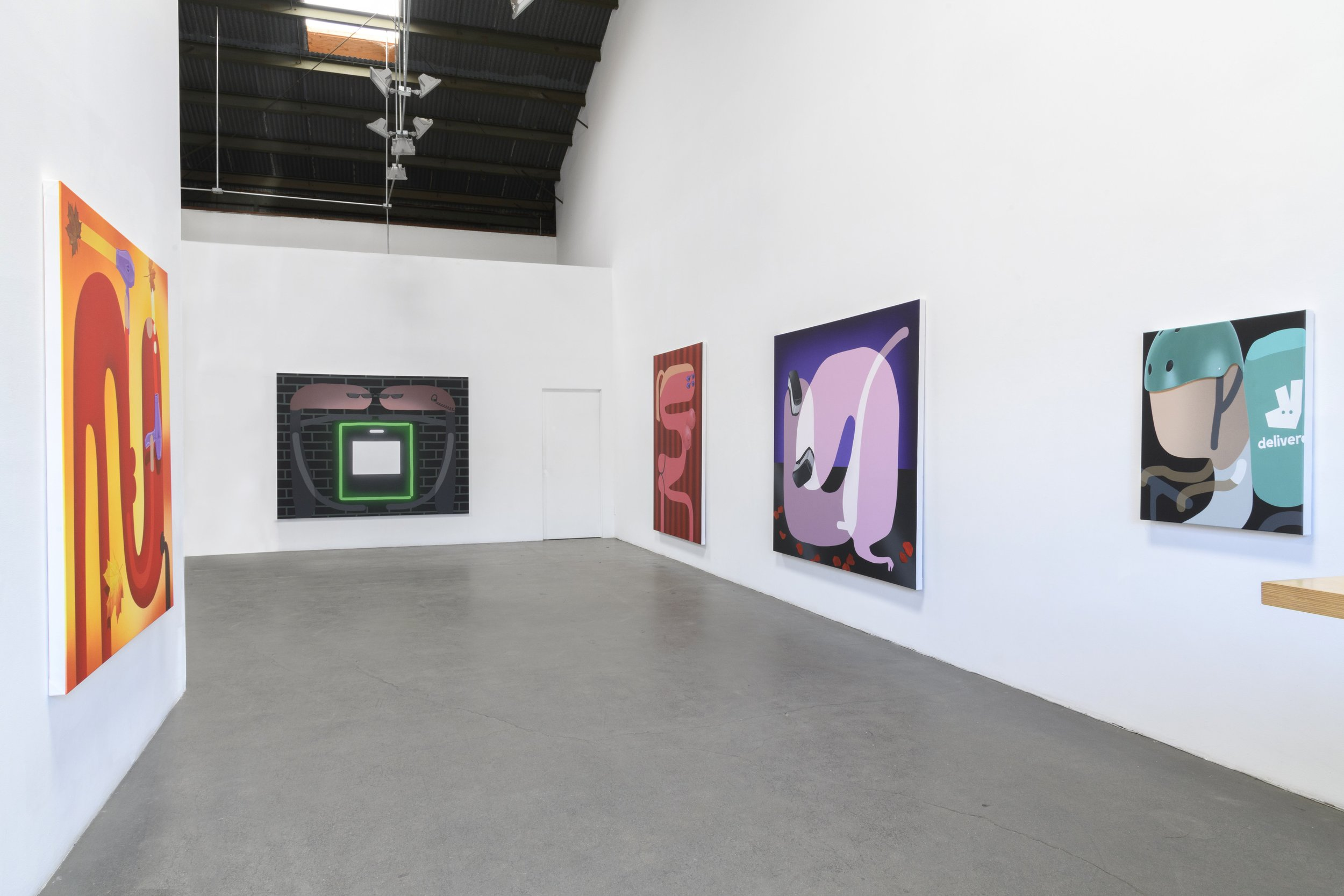 'Contactless' Installation shot, Richard Heller Gallery 2019