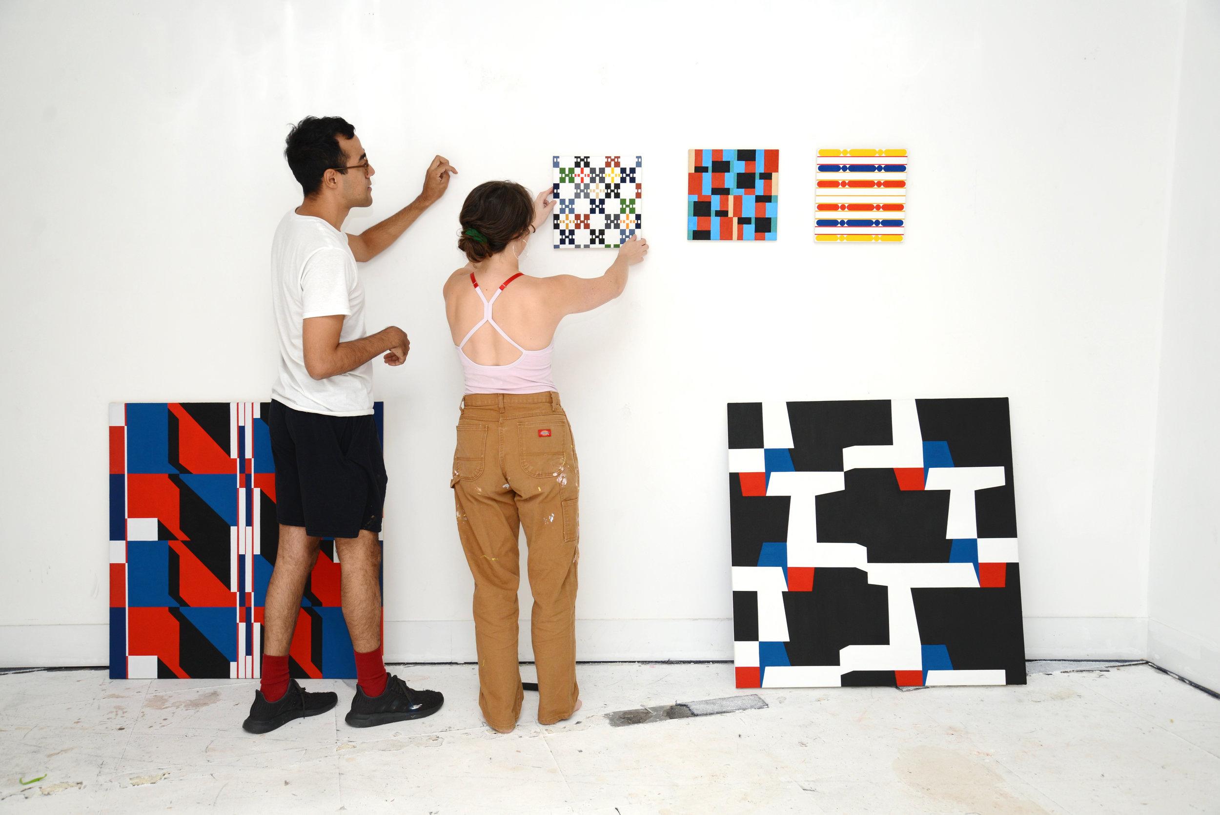 Kevin Umana and Danni O'Brien (Artwork: Kevin Umaña)
