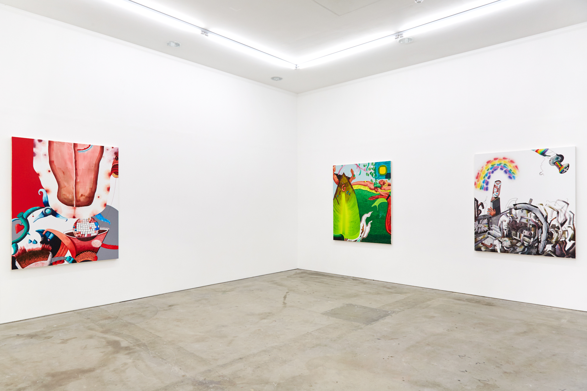 Installation view 'Models' at   Castor  , 2018 Photo by Corey Bartle Sanderson