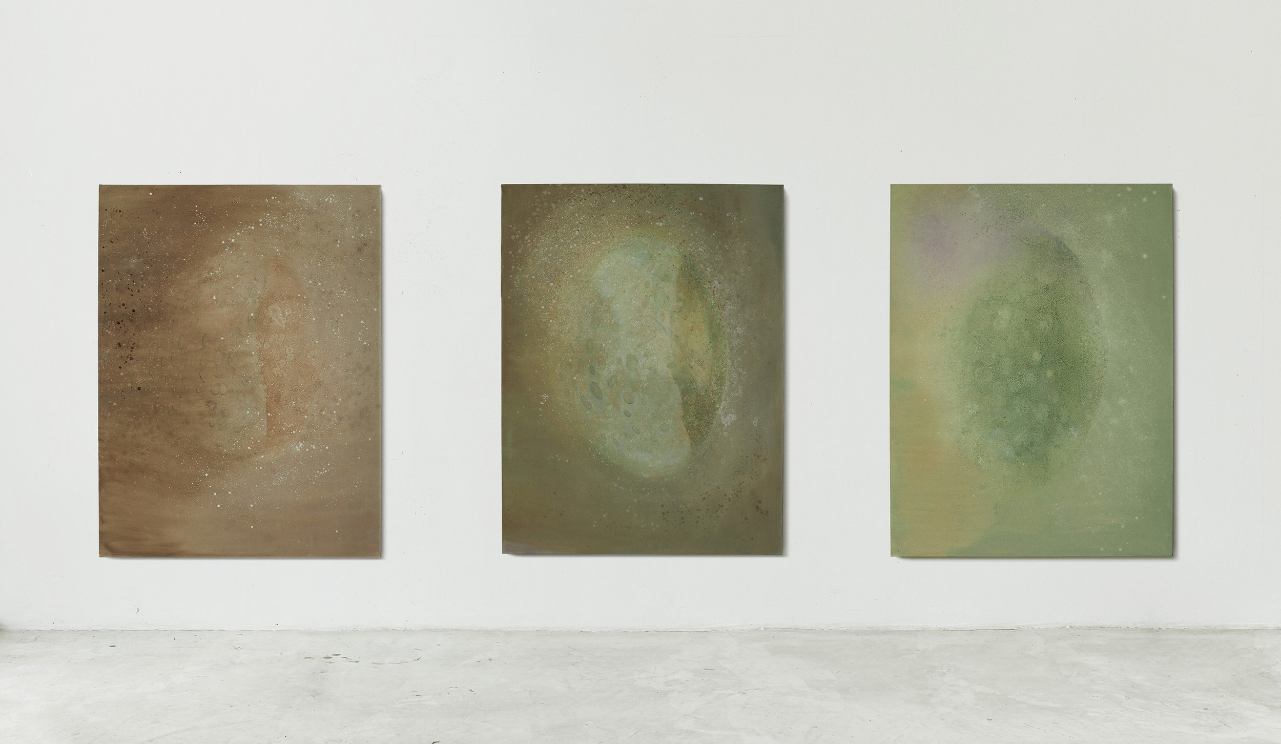 Nebula, Installation View, my studio, 2019