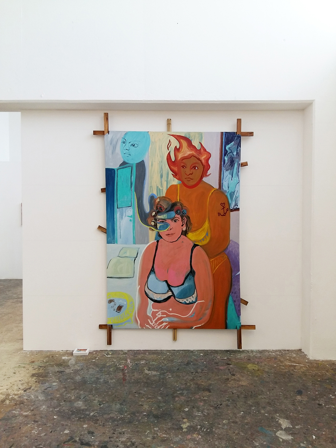 Install shot, Votre Dame, Turps Gallery, 2019