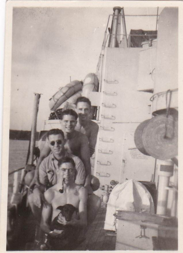 HMS Bulolo crew, Gilbert Summers top