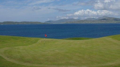 Isle of Harris golf club, at Scarista.