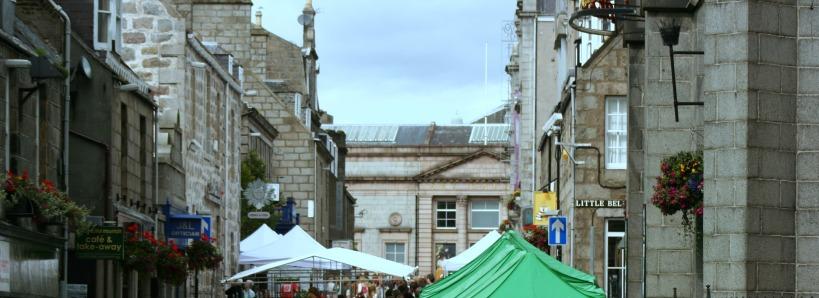 Aberdeen streetscape