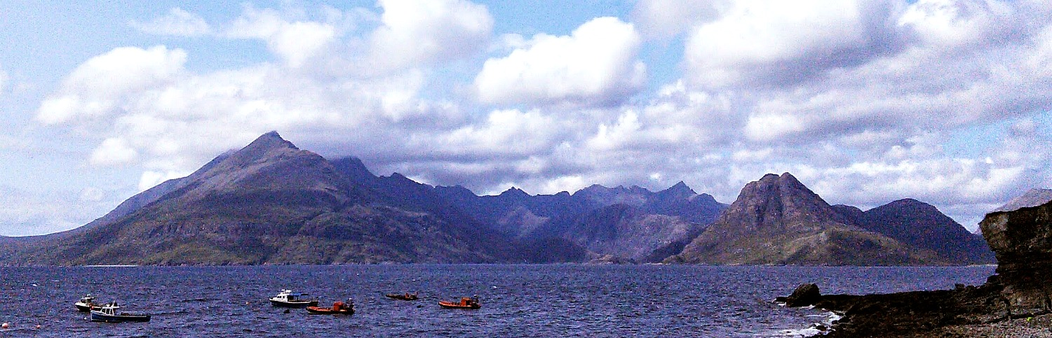 Cuillin Hills from Elgol.