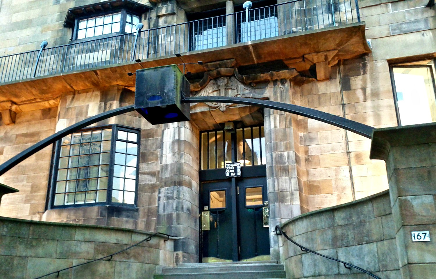 Glasgow School of Art - before it was destroyed.