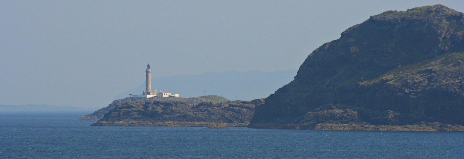 Ardnamurchan Point from the sea. (Actually, from the Oban to Lochboisdale Ferry.)