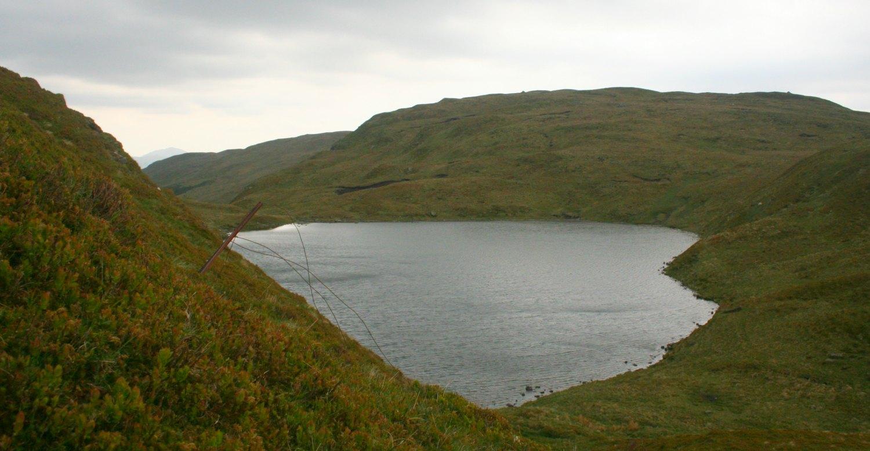 Lochan nan Eireannaich at the top of Kikrkton Glen, Balquhidder