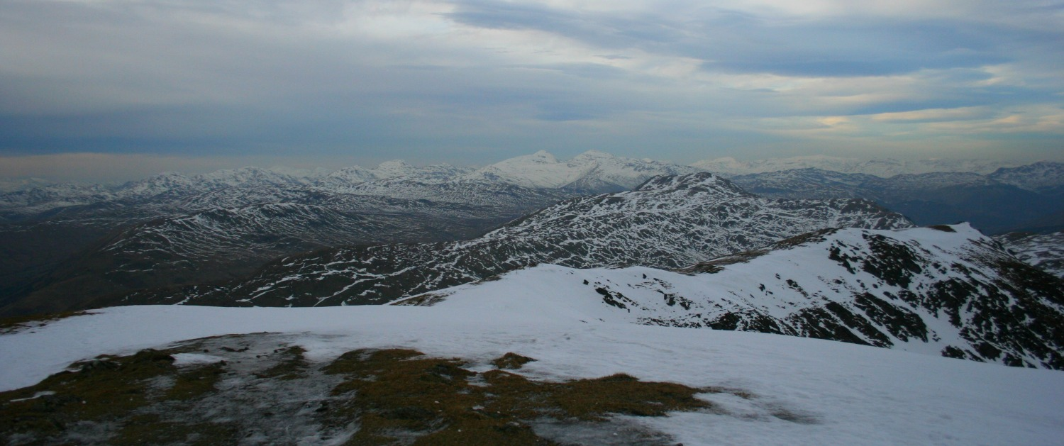 Ben Ledi summit view